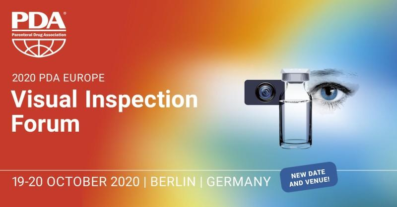 PDA Europe Visual Inspection Forum 2020