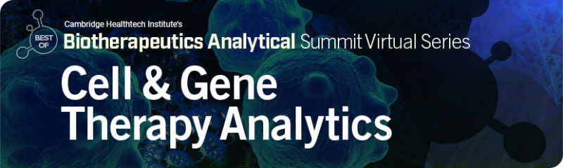 CHI Conference Cell & Gene Therapy Analytics